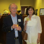 alan & nancy tiegreen at gpb events