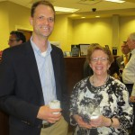 joe maloney & jane skelton at gpb community event